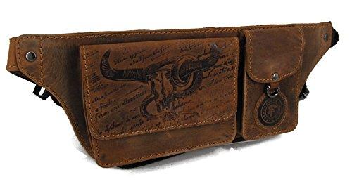 LANDLEDER Edle Herren Leder Geldbörse Portemonnaie Geldbeutel Brieftasche Messenger Serie BULL & SNAKE verschiedene Modelle--p...