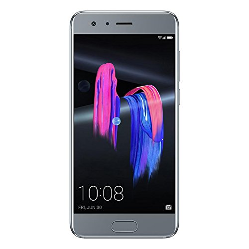 "Honor 9 Dual SIM 4G 64GB Silver - Smartphones (13.1 cm (5.15""), 64 GB, 20 MP, Android, 7.0, EMUI 5.0, Silver)"