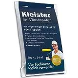 Tapetenkleister Profi Vlies Kleister Fototapete Tapete 50g (ca. 5-6 m2) - Ideal für Fototapeten, optimales & praktisches Dosieren 1 x 50g Päckchen