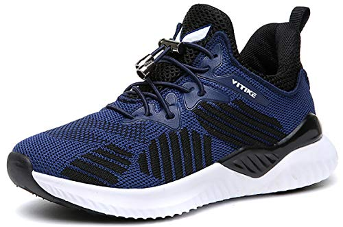 fd01c349cd7c VITIKE Boys Girls Mesh Sneaker Outdoor Athletic Slip on Casual Running Shoes  Lightweight Sneakers Boy Shoes
