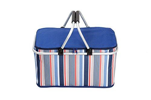 Skylink 32L Frigo portatile borsa impermeabile, Go per picnic, escursionismo, campeggio, pesca, Viaggi - Multi Purpose Insulated Tote