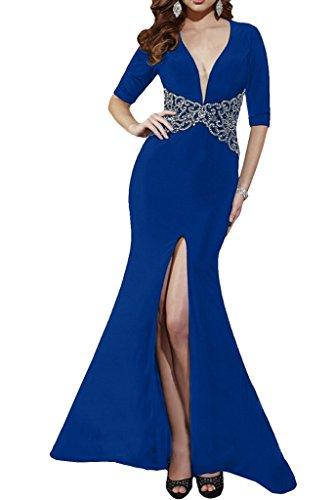 Missdressy - Robe - Crayon - Femme bleu roi