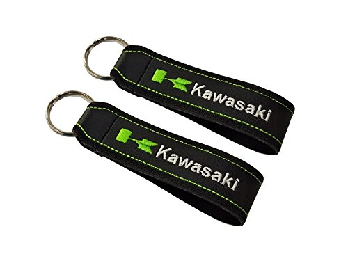 Moto Discovery Kawasaki Cordón Llavero Doble Cara (1 Pieza)
