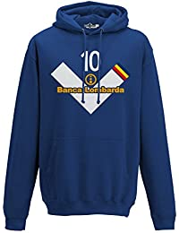 Bright Felpa Con Cappuccio Junior Personalizzata Inter Football Club Bambino: Abbigliamento Abbigliamento E Accessori