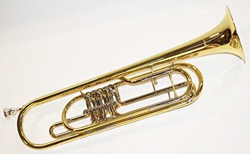Marching Bariton Gold Sporting Basstrompete Mit Koffer Und Mundstück
