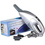 TOUARETAILS Portable High Power 12V Car Vacuum Cleaner For Car and Home Wet & Dry Car Vacuum Cleaner- Grey