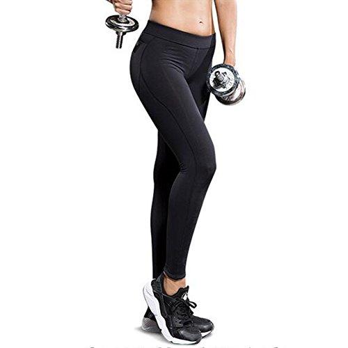 Hattie - Legging de sport - Femme Noir