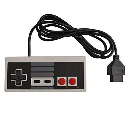 DOORGA NES Controller für Nintendo NES 8 Bit Entertainment-System, Konsolen-Steuerung, Ersatzcontroller