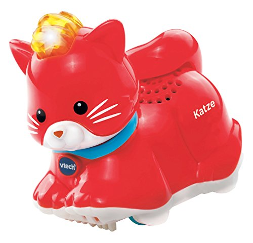 VTech Baby 80-188504 - Tip Tap Tiere - Katze, rot