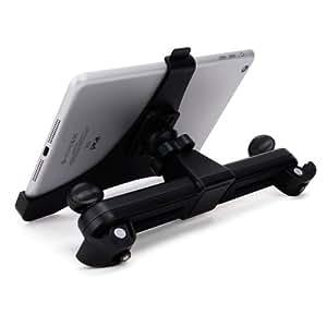 360° KFZ AUTO HALTER KOPFSTÜTZE HALTERUNG STÄNDER STAND SPEZIELL FÜR APPLE IPAD MINI, Apple iPad Mini 2 mit Retina Display