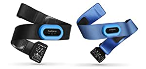 Garmin HRM-Tri and HRM-Swim Bundle Heart Rate Monitor Strap, Black (Black/Blue), 010-11254-03