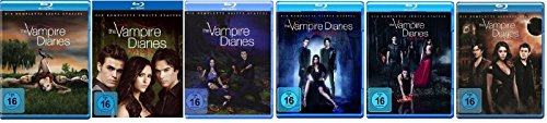 Blu-ray Set * The Vampire Diaries Staffel/Season 1+2+3+4+5+6 - Vampire Vier Diaries-staffel