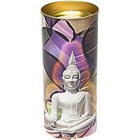 Etwas finden, verschiedenen gebeizt Glas Fenster Effekt Buddha Kerze, Bambus, mehrfarbig preisvergleich bei billige-tabletten.eu
