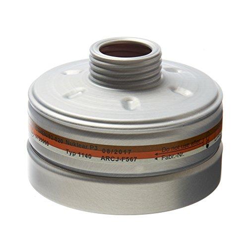 Dräger Reaktor P3 Atemschutzfilter mit DIN-Gewindeanschluß für Halbmasken oder Vollmasken
