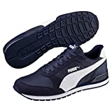 Puma St Runner V2 Nl, Baskets Basses Mixte Adulte, Bleu (Peacoat-Puma White 8), 43 EU