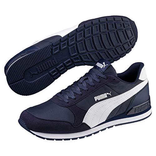 PUMA Unisex-Erwachsene St Runner V2 Nl Sneaker, Blau (Peacoat-Puma White), 40 EU(6.5 UK)