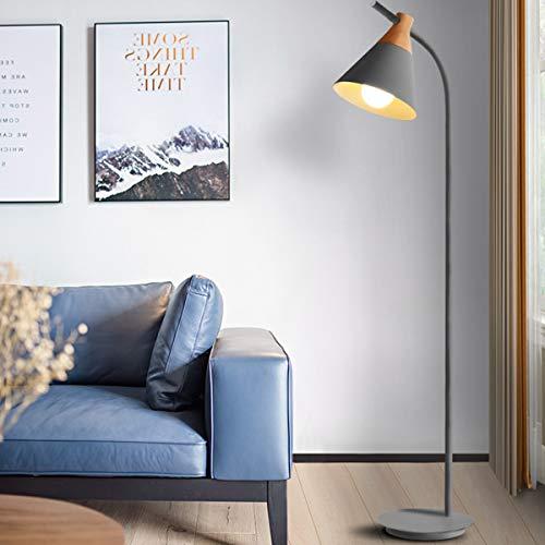 LAMPES DE SOL LED ZXC YWXLight Macaron lampadaire lampe de table verticale (Couleur : Gray)