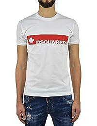 Dsquared2 T-Shirt Dsquared2 Uomo - Taglia  M - Colore  Bianco - Nuovo f6714444fcce