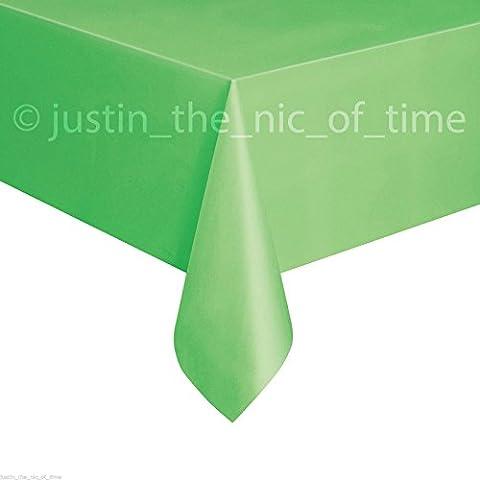 Kiwi verde plastica tablecovers Tovaglia Tavola Feste ristorazione, Tovaglia