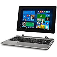 Medion Akoya E1239T MD 60792 25,6 cm (10,1 Zoll Full HD Display) 2in1 Tablet-PC (Intel Atom x5-Z8350, 2GB DDR3 RAM, 64GB Flash-Speicher, Intel HD-Grafik, Win 10 Home) silber
