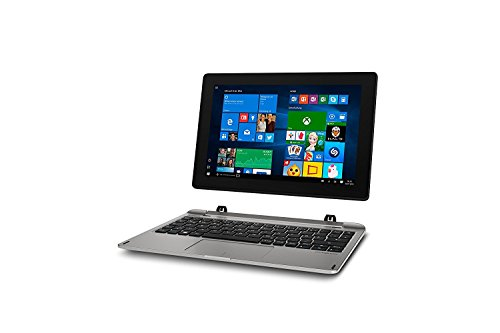 MD 60792 25,6 cm (10,1 Zoll Full HD Display) 2in1 Tablet-PC (Intel Atom x5-Z8350, 2GB DDR3 RAM, 64GB Flash-Speicher, Intel HD-Grafik, Win 10 Home) silber ()