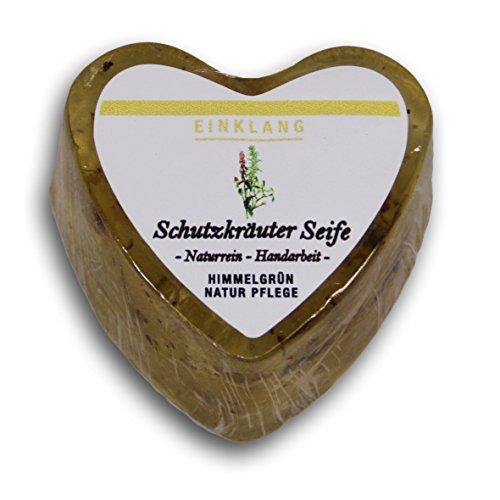 Himmelgruen SF84SCH Seife, Sheabutter, Transparent, 6 x 6 x 2,5 cm