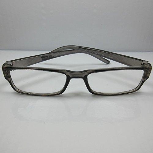 Schicke einfache Lesebrille transparent unisex Lesehilfe Sehhilfe Ersatzbrille +3,0