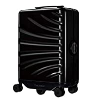 "COWAROBOT R1 BLACK: Smart Luggage, Auto-Follow 20"" Carry-On Robotic Suitcase With USB Power Bank Ports, Intelligent Tracking, Hands-Free, Obstacle Avoidance"