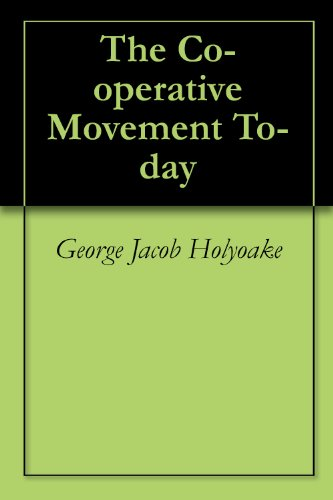 the-co-operative-movement-to-day-english-edition