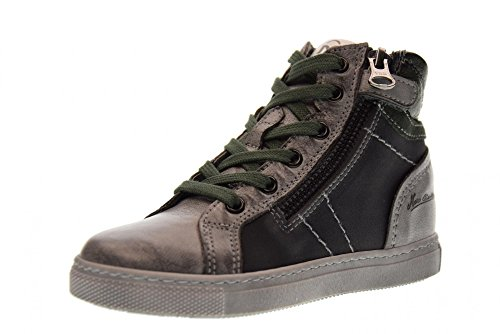 Nero Giardini Chaussures Junior Espadrilles A734401M / 104 Green Gray (27/30)