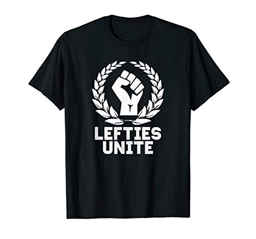 Linkshänder Tshirt United | Internationaler Linkshändertag  - Linkshänder-shirt