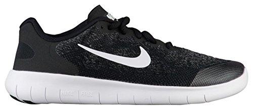 Nike Free Rn 2017(Gs), Jungenschuhe, Running, - BLACK/WHITE-DARK GREY-ANTH - Größe: 36 EU