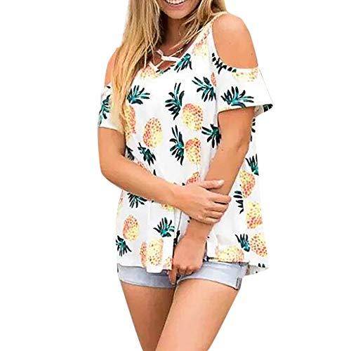 Urban Ace | Basic T-Shirt, Loose Fit | FüR Damen, Frauen | Freizeit, Sport | Locker Geschnitten | Aus 95% Baumwolle