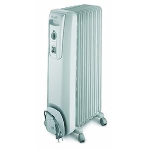 Delonghi KH 770715 CW – Aceite radiador llenado 1500 W Blanco