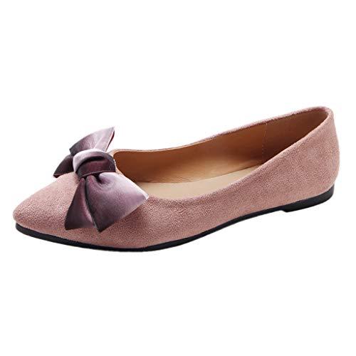 Jiameng pantofole donna estive elegant ciabatte donna estive da casa mare sandali estivi donna mare bassi elegant estivi gioiello - donne moda tinta colore sandali pantofola (rosa,eu 40)