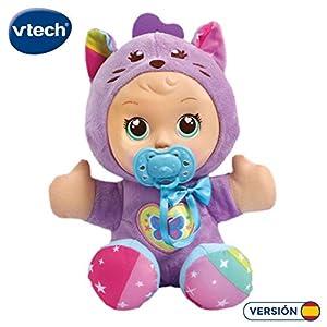 VTech- Little Love Dulce Gato Muñeca interactiva Que Habla y enseña Letras. (3480-526422)
