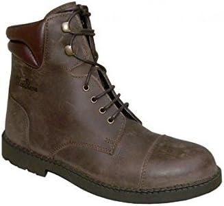 Boots vigoulet Nubuck barnizada 38 marrón