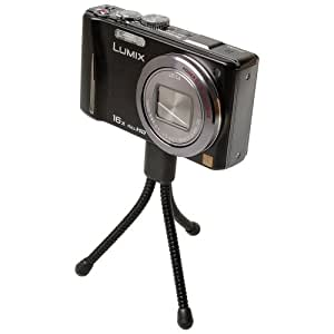 Foto Video Stativ Mini schwarz für Canon EOS 500D EOS 1000D Ixus 95 IS Powershot D10 Ixus III IXUS L-1