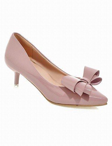 WSS 2016 Chaussures Femme-Bureau & Travail / Habillé / Décontracté / Soirée & Evénement-Noir / Rose / Rouge / Gris-Talon Aiguille-Talons / Bout gray-us6 / eu36 / uk4 / cn36
