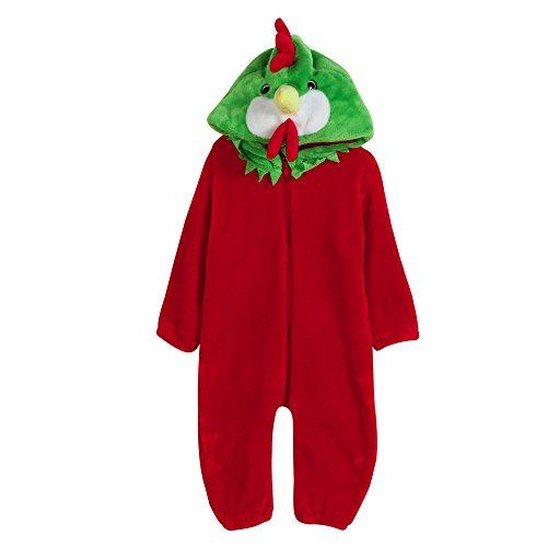 LCLrute New Mode Kleinkind Neugeborene Baby Jungen Mädchen Tier Cartoon Hoodie Spielanzug Outfits Kleidung Cartoon Tier Form Flanell Kleidung (Kostüme 4t Dinosaurier)