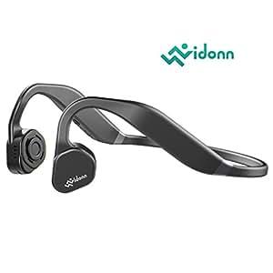 Vidonn F1Titanium Open Ear sport conduzione ossea cuffie Wireless Bluetooth con microfono per corsa, ciclismo, trekking (nero grigio)