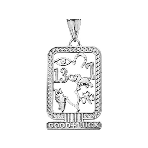 Anhänger Glückskartusche Sterling-Silber 925 antiker ägyptischer Stil