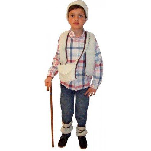 Generique Hirten Kostüm für Jungen 98/116 (3-4 Jahre)