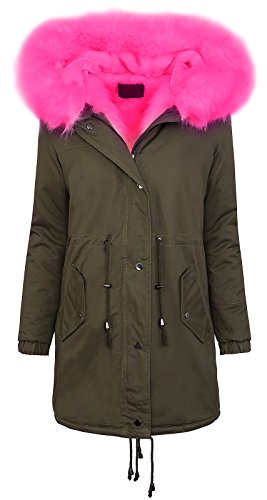 Rock Creek Selection -  Giacca  - Donna Khaki-Pink XL/48
