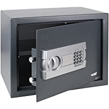 HMF Tresor Safe – Cassaforte elettronica 380 x 300 x 300 mm