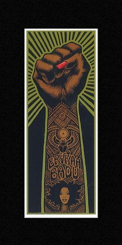 Stick It On Your Wall Musikposter (Badu Poster Erykah)