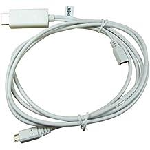 Cavo adattatore da Micro-USB a HDMI - MHL per SAMSUNG Galaxy, HTC, Sony Ericsson Xperia etc.