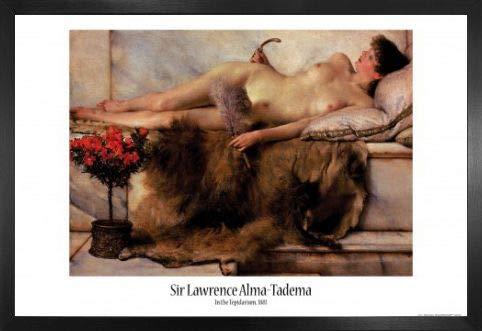 Sir Lawrence Alma-Tadema Poster Stampa e Cornice (MDF) - Tepidarium, 1881 (91 x 61cm)