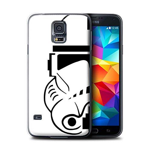 Stuff4 Custodia/Cover/Caso/Cassa Rigide/Prottetiva Stampata con Il Disegno Assalto Soldato Casco per Samsung Galaxy S5 Neo/G903 - Clone Soldato