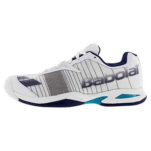 Babolat Junior jet all Court Wimbledon scarpa da tennis White